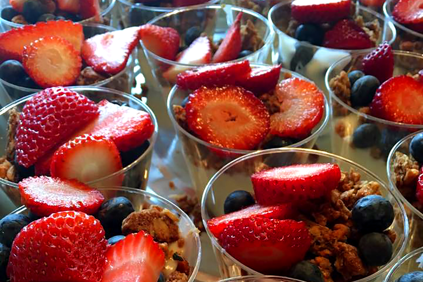 Corporate Catered Breakfast Parfait