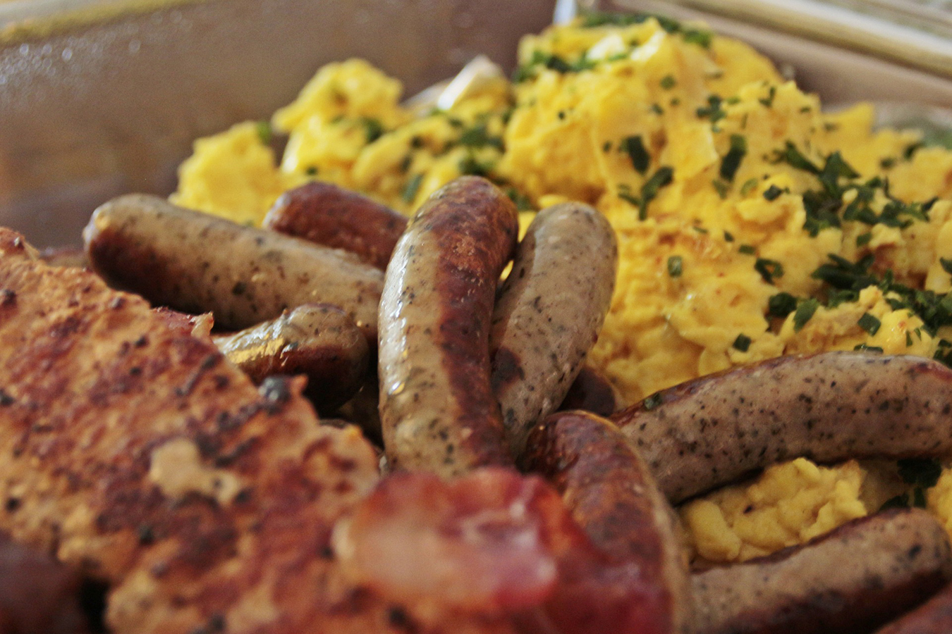 ezCater Corporate Catering - Eggs and Sausage Breakfast